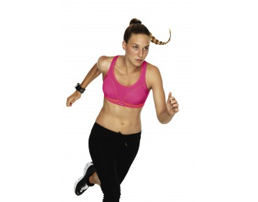 Shock Absorber RUN sports bra pink/koralle