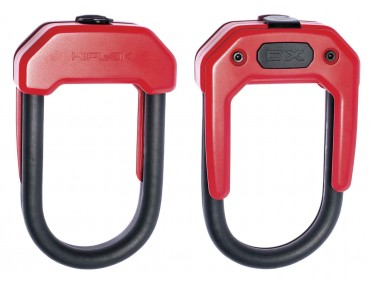 Hiplok DX U-lock black red