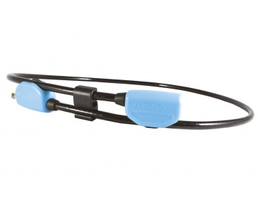 Hiplok Pop Lock cable lock 130 cm black/cyan