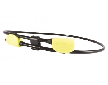 Hiplok Pop Lock cable lock 130 cm black/lime