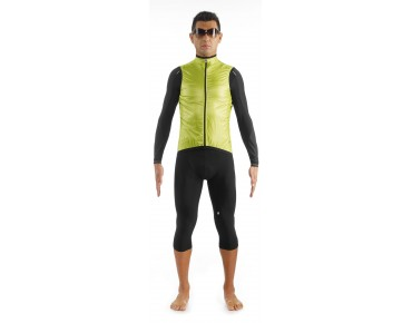 ASSOS sV.BlitzFeder windproof vest safety yellow