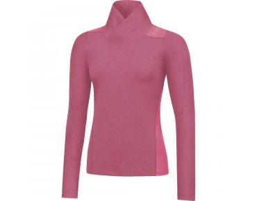 GORE BIKE WEAR SUNLIGHT LADY long-sleeved thermal shirt jazzy pink/giro pink