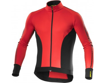 MAVIC COSMIC ELITE 16 thermal long-sleeved jersey racing red/black