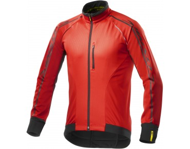 MAVIC COSMIC ELITE 16 thermal windbreaker jacket racing red/black