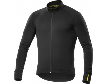 MAVIC AKSIUM 16 thermal long-sleeved jersey black