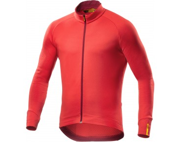 MAVIC AKSIUM 16 thermal long-sleeved jersey racing red