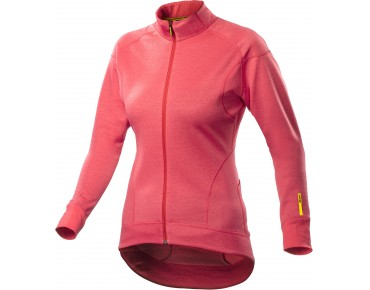 MAVIC KSYRIUM ELITE 16 women's thermal long-sleeved jersey papaya