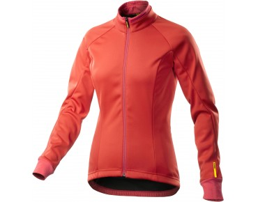 MAVIC AKSIUM 16 Damen Windschutz Thermo Jacke racing red