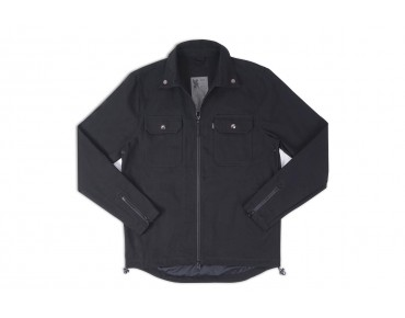 CHROME Ike Windshirt jacket Black Canvas