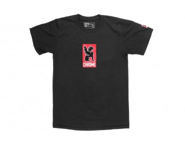 CHROME LOCK UP T-Shirt black