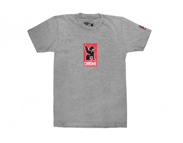 CHROME LOCK UP T-Shirt heather grey