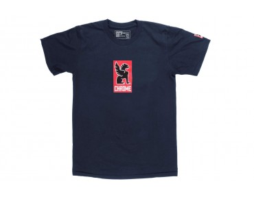 CHROME LOCK UP T-Shirt navy