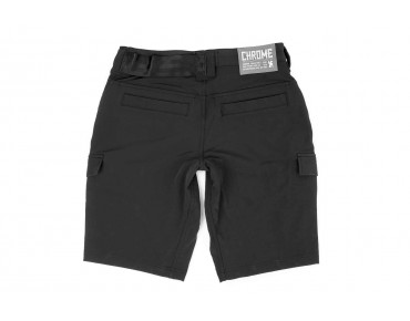 CHROME CARGO SHORTS black