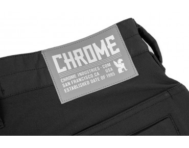 CHROME CARGO SHORTS broek black