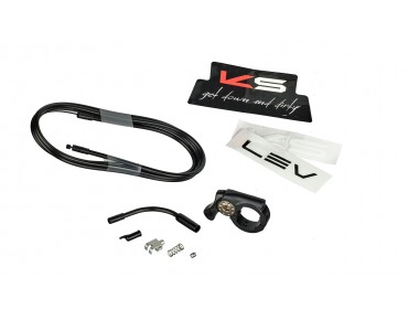 Kind Shock LEV Integra 400/100 Vario seatpost black