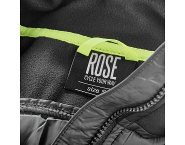 ROSE HYBRID jacket black/dark grey