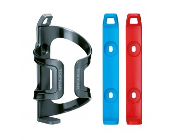 Topeak Dual Side Cage EX bottle cage gray/blue/red
