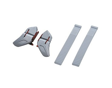 SHIMANO SMALL BUCKLE & STRAP SET white