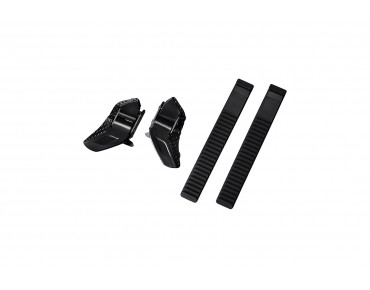 SHIMANO SMALL BUCKLE & STRAP SET black