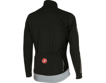 Castelli RADDOPPIA GORE WINDSTOPPER soft shell jacket black/reflex