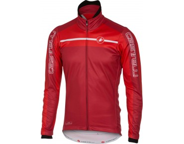 Castelli VELOCISSIMO GORE WINDSTOPPER soft shell jacket ruby red/red