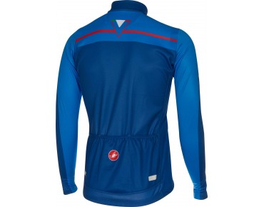 Castelli VELOCISSIMO long-sleeved jersey surf blue/drive blue