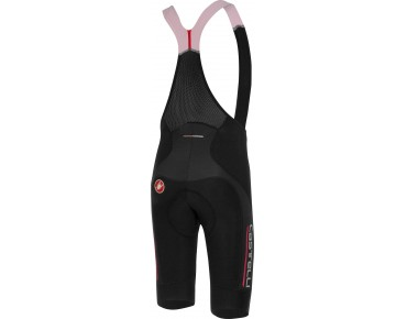 Castelli OMLOOP THERMAL bib tights black/red reflex
