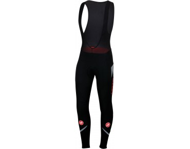 Castelli POLARE 2 GORE WINDSTOPPER thermal bib tights black/reflex