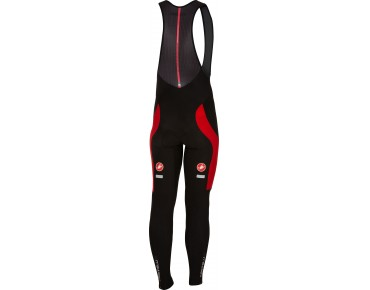 Castelli VELOCISSIMO 3 thermal bib tights black/red