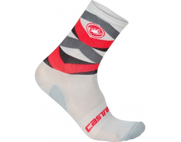 Castelli FATTO 12 winter socks red/anthracite