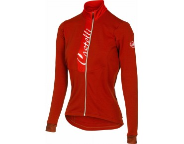 Castelli SORRISO women's long-sleeved jersey ruby red/red