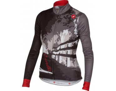 Castelli SENTIERO women's long-sleeved jersey anthracite/black