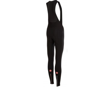 Castelli MENO WIND W - salopette lunga antivento donna black