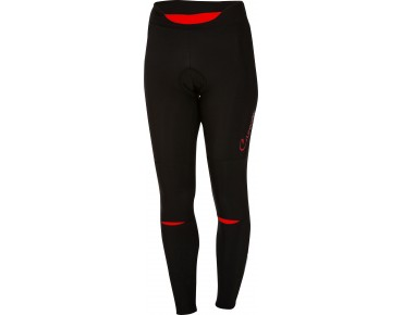 Castelli CHIC Damen Thermo Hose black/red