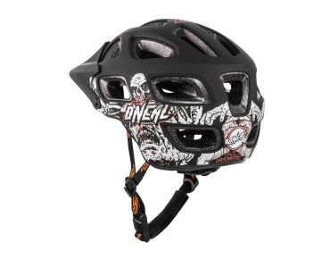 O´NEAL THUNDERBALL Helm MENACE matte black/neon orange