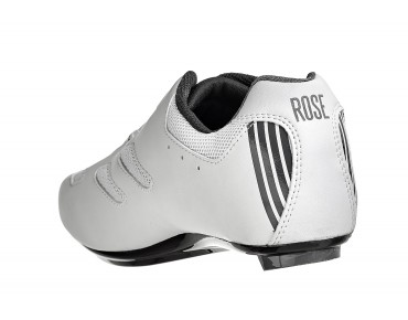 ROSE RRS Carbon Composite road shoes white/grey