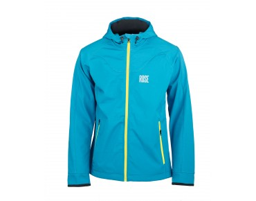 ROSE OUTDOOR softshell jacket pétrole/citron vert