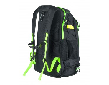 Arena Fastpack 2.1 backpack dark grey/acid lime/white