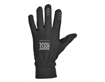 ROSE THERMO FLEECE full-finger gloves black