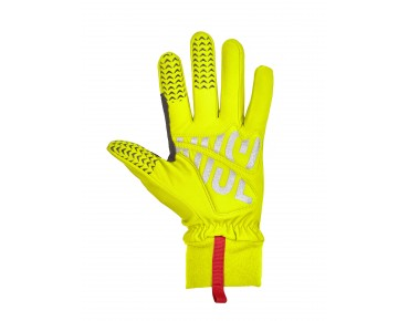 ROSE THERMO FLEECE full-finger gloves flou yellow