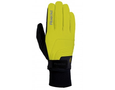 ROECKL REBELVA GORE WINDSTOPPER Winterhandschuhe neon yellow