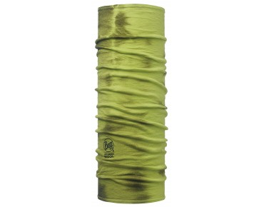 BUFF MERINO WOOL GARMENT DYE functional scarf lime dye