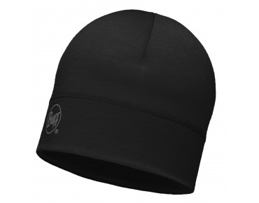 BUFF MERINO WOOL 1 LAYER hat black