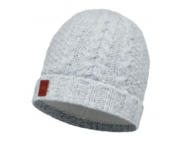 BUFF AMBY KNITTED & POLAR FLEECE hat snow