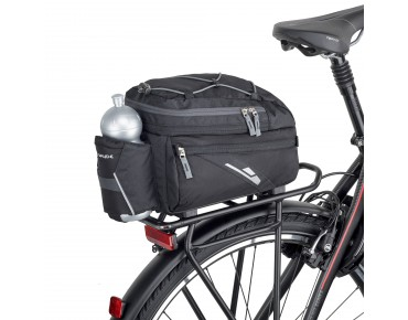 VAUDE SILKROAD rack pack with RACKTIME SNAPIT system black