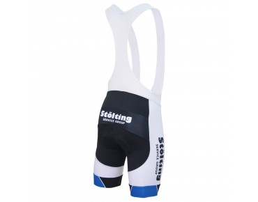 CUORE TEAM STÖLTING BRONZE bib shorts white/black/blue