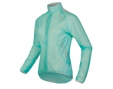 ENDURA ADRENALIN RACE CAPE waterproof women's jacket turquoise
