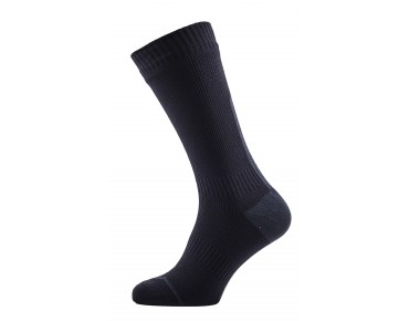 SealSkinz ROAD THIN MID HYDROSTOP wasserdichte Merino Socken black