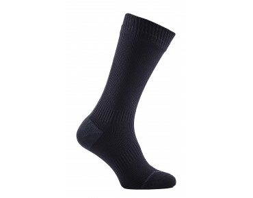 SealSkinz ROAD THIN MID HYDROSTOP waterproof merino socks black