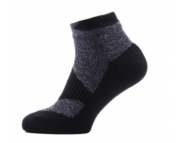 SealSkinz THIN ANKLE waterproof merino socks black